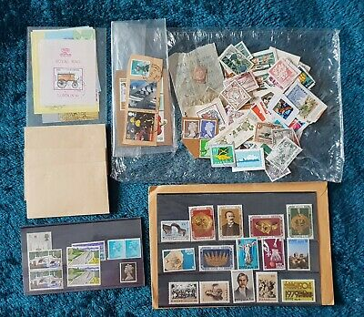 Collection of MINT and USED Old Loose World Stamps