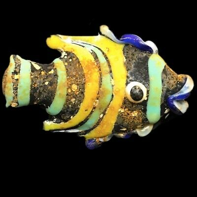 Very Rare Large Phoenician Glass Fish 300Bc Super Quality (8)