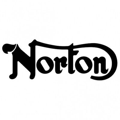 Vehicle Parts & Accessories NORTON Garland motorcycle stickers