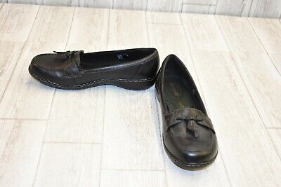 bc0312f9f3b CLARKS ASHLAND BUBBLE Leather Loafers