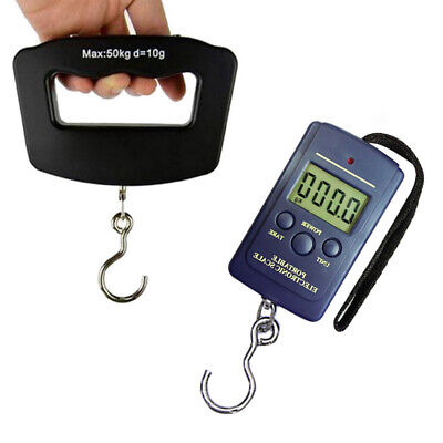 40/50kg Hanging Luggage Electronic Portable Digital Scale Weight Scale New