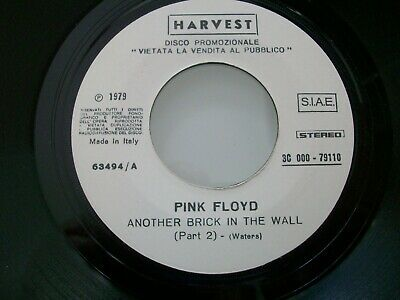 PINK FLOYD-ANOTHER BRICK IN THE WALL (PART 2) disco juke box