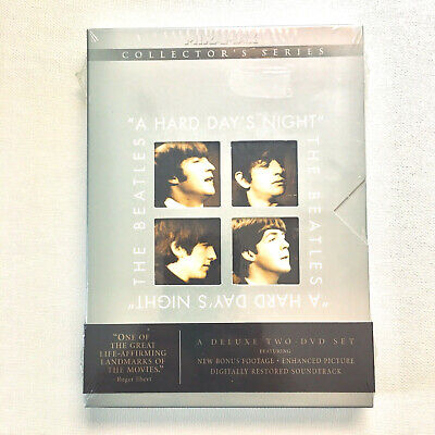 A Hard Days Night, The Beatles (DVD 2001, 2-Disc Set) Brand New, Collector's