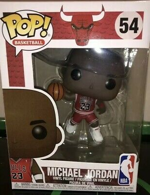 Funko POP NBA  Chicago Bulls Michael Jordan  #54 FAST SHIPPING