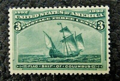 nystamps US Stamp # 232 Mint OG NH $110