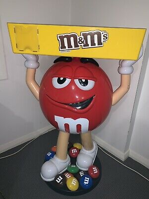 Red M&M Chocolate Life Size Epic Man Cave Must Have Great Conversation Starter
