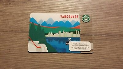 Starbucks Canada Vancouver gift card. WILL COMBINE SHIPPING
