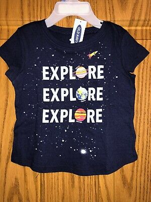 NWT Old Navy Brand Girls Space Top Sz 12-18mo