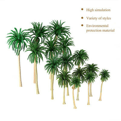 MODEL TREE COCONUT Palm Trees Scenery Model Miniature