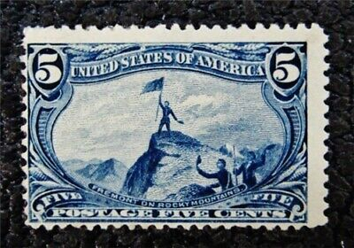 nystamps US Stamp # 288 Mint OG H $100