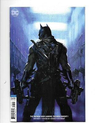 the BATMAN who Laughs: the GRIM KNIGHT #1 GABRIELE DELL'OTTO VARIANT 2019  DC