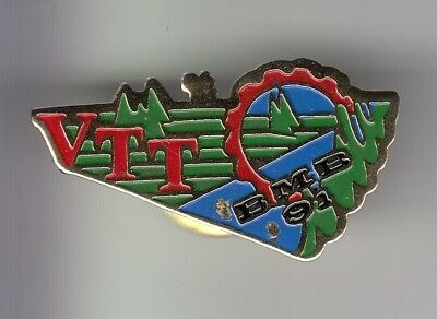 Rare Pins Pin's .. Velo Cyclisme Cycling Club Team Belgique Mountain Bikers ~Ef