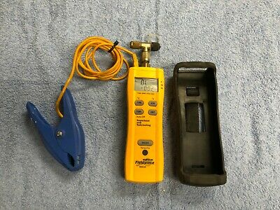 Fieldpiece Superheat & Subcooling Refrigeration Meter SSX34 w/ ATC1 Pipe-Clamp