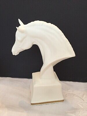 """Royal Worcester Fine Bone China Horse Head 5 """"  BRONTE Excellent Condition"""