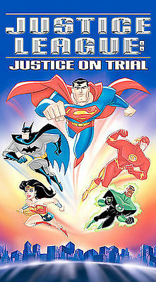 NEW DVD Justice League - Justice On Trial  Factory Sealed Free Shipping !