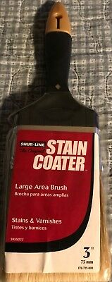 "Shur-Line 3"" The Original Stain Coater Large Area Brush"