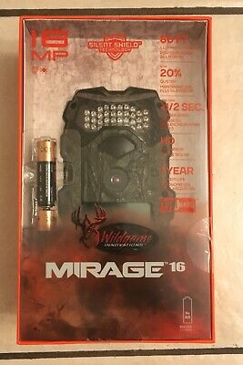 Wildgame Innovations Mirage 16 Trail Camera New, 16MP