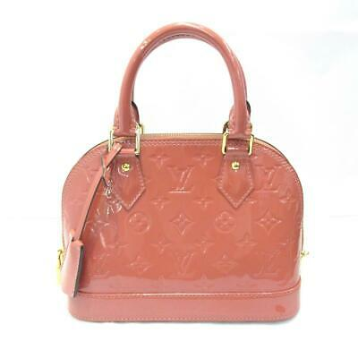 184279a2786c LOUIS VUITTON Alma BB 2way shoulder bag M94769 Vernis Leather Amarante