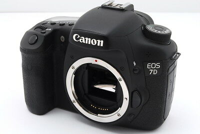 [EXC] Canon EOS 7D 18.0MP Digital SLR DSLR Camera Body from Japan