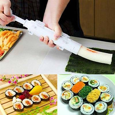 DIY Sushi Bazooka Maker Kit Rice Roll Mold Roller Making Chef Kitchen Mould Tool