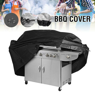 S/M/L BBQ Cover Heavy Duty Waterproof Gas Barbecue Grill Outdoor Protector UK