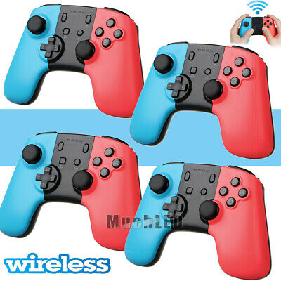 4 Pack Wireless Bluetooth Pro Controller Gamepad Joypad for Nintendo Switch 2019