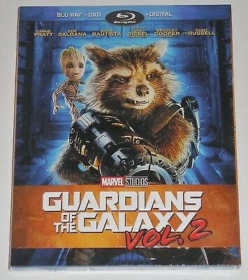 MARVEL Action Blu-ray - Guardians of the Galaxy Vol. 2 (Blu-ray/DVD, 2017)