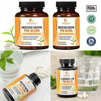 Digestive Enzymes Plus Prebiotics & Probiotics 1000Mg Natural Pancreatic Support