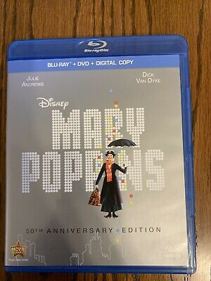 Mary Poppins (DVD, 2013, 50th Anniversary Edition)