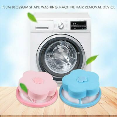 10pcs Floating Laundry Lint Pet Fur Catcher Hair Remover For Washing Machine US