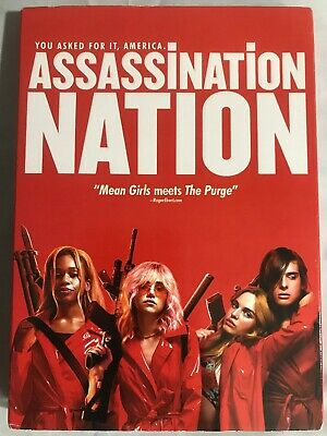 NEW Assassination Nation DVD 2018 Odessa Young, Suki Waterhouse Free Shipping