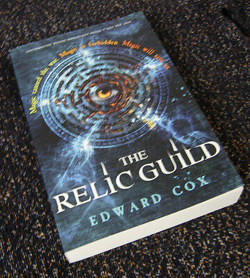 The Relic Guild - Edward Cox - Signed, lined and publication dated proof