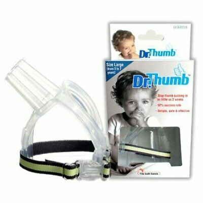 Dr Thumb for Thumb Sucking Prevention Treatment Thumb Large (3-7 Years)