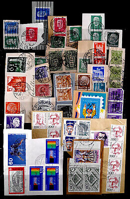 Germany: Classic Era - 90's Stamp Collection On Piece