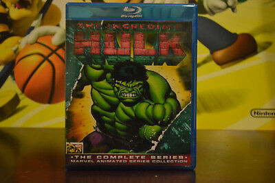 The Incredible Hulk The Complete 1996 Animated Series Blu-ray Set