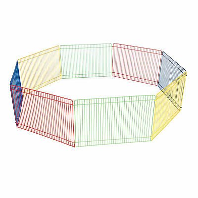 Pet Playpen Small Animal Rabbit Hamster Guinea Pig Exercise Play Pen Fence Cage