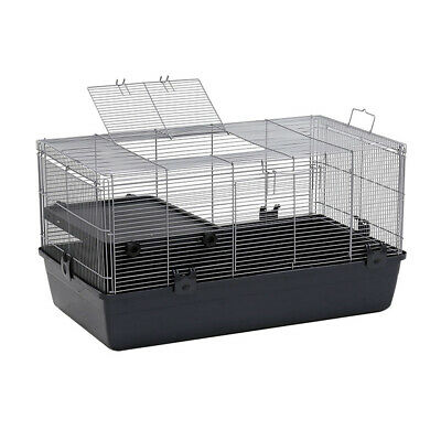 Pet Rabbit Bunny Cages Hutch Ferret Guinea Pig Cage Run Chinchilla House Carrier