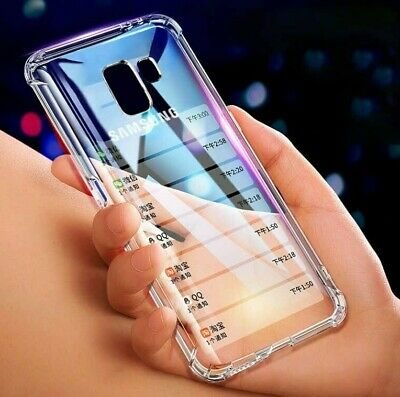 For Samsung Galaxy J4 Plus J6 2018 Case Shockproof Soft TPU Silicone Cover New