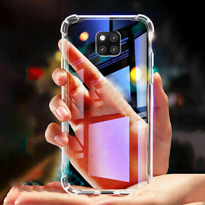Case For Huawei P20 P30 Pro Mate Lite P Smart Shockproof Silicone TPU Back Cover