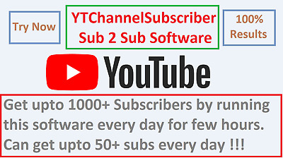 Youtube - Sub 2 Sub Windows Software