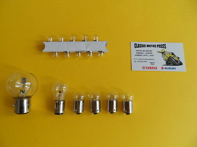125  As3 Yamaha Type As3 Pack  De 16  D'ampoules 12 Volts