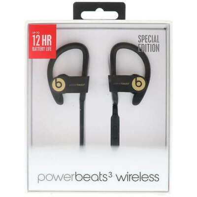 Beats by Dr Dre- Powerbeats3 Wireless Bluetooth Headphones- Trophy Gold NEW