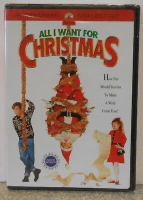 All I Want for Christmas (DVD, 2004, Widescreen Collection) BRAND NEW