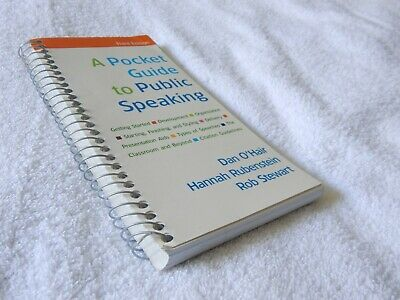 A Pocket Guide to Public Speaking Dan O'Hair Business Classroom Presentations