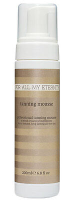 For All My Eternity Self Tanning Mousse Dark Natural Fake Tan Instant Tanner
