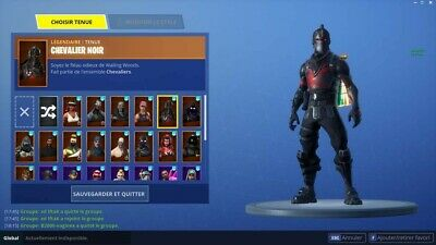 Concours compte Fortnite BLACK KNIGHT Account Raffle !!