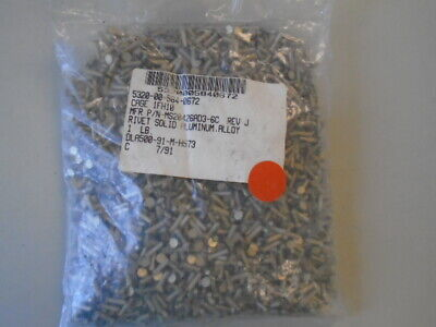 One Pound Aluminum Alloy Solid Rivet  P/N: Ms20426Ad3-6C
