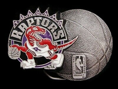 Nb01158 *Nos* Vintage 1994 **Toronto Raptors** Basketball Sports Belt Buckle