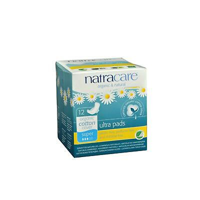Natracare Natural Ultra Pads Organic Cotton Cover 12 Count