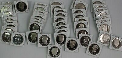 1968 thru 2018 S PROOF Kennedy Half Dollar Collection 50 Coins from US Proof Set